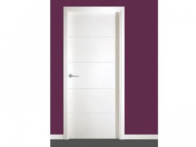 Precio puertas lacadas en blanco trendy puerta lacada for Precio puertas blancas
