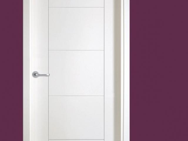 Iberpleg armarios en madrid vestidores a medida for Puertas blancas modernas